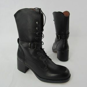 Magar Cowhide Leather Boots
